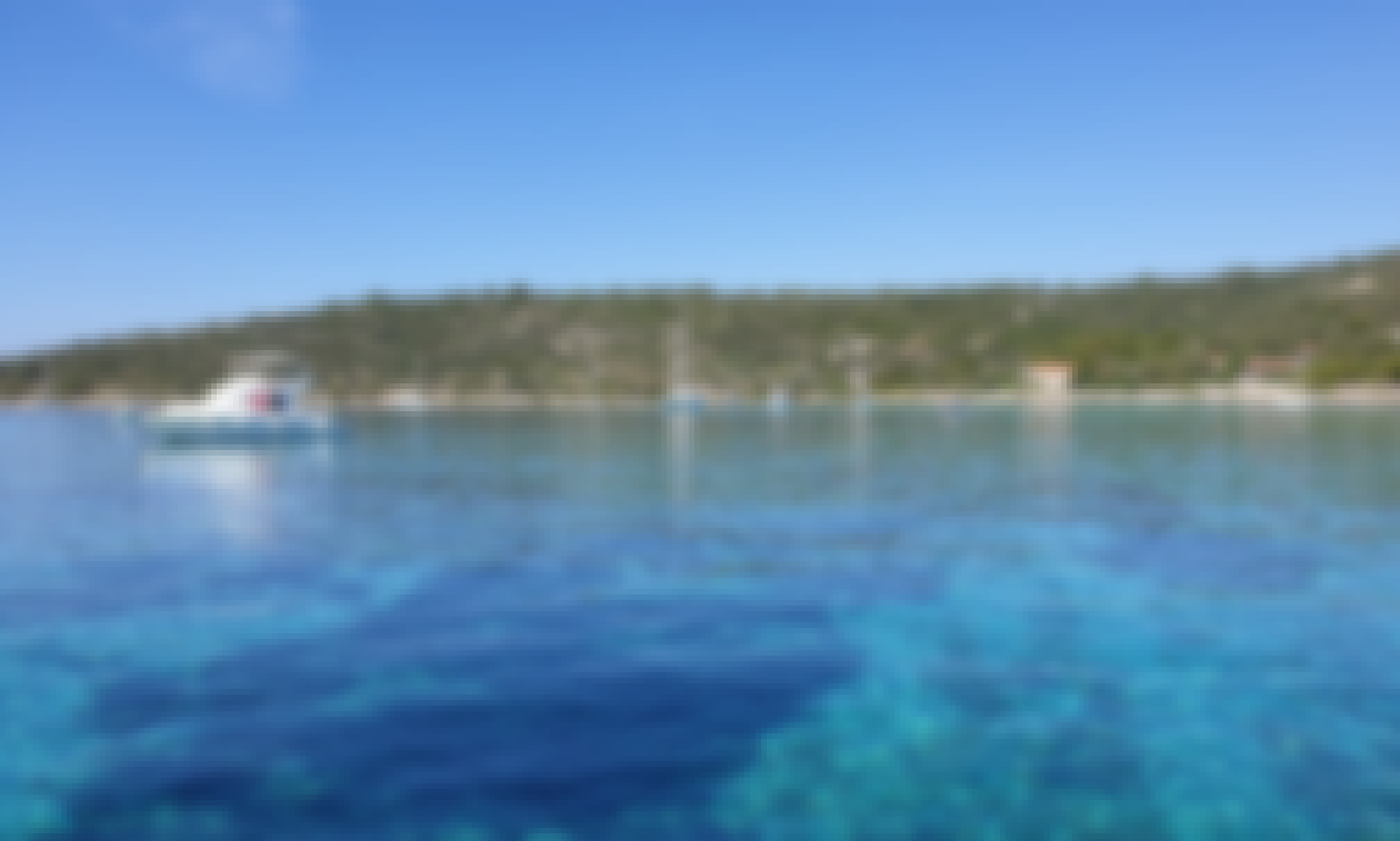 PRIVATE HALF DAY TOUR to BLUE LAGOON (Island Drvenik) with brand new boat from Split