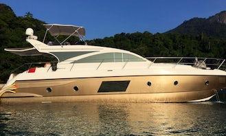 Cimitarra 560 Motor Yacht Charter in Rio de Janeiro