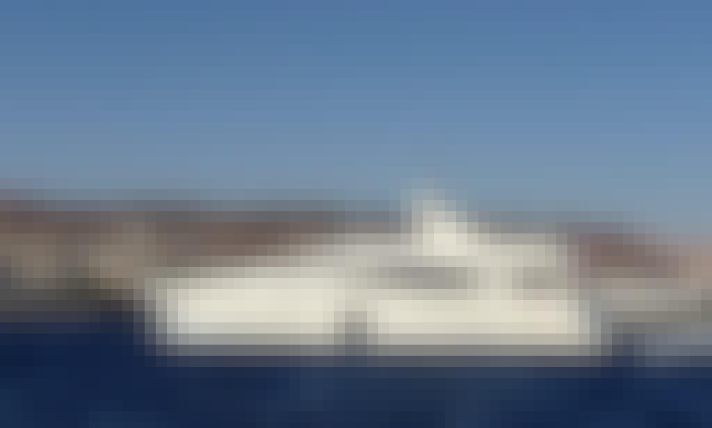 Large Motor Yacht in Eilat, Israel. Ferretti 25 meters