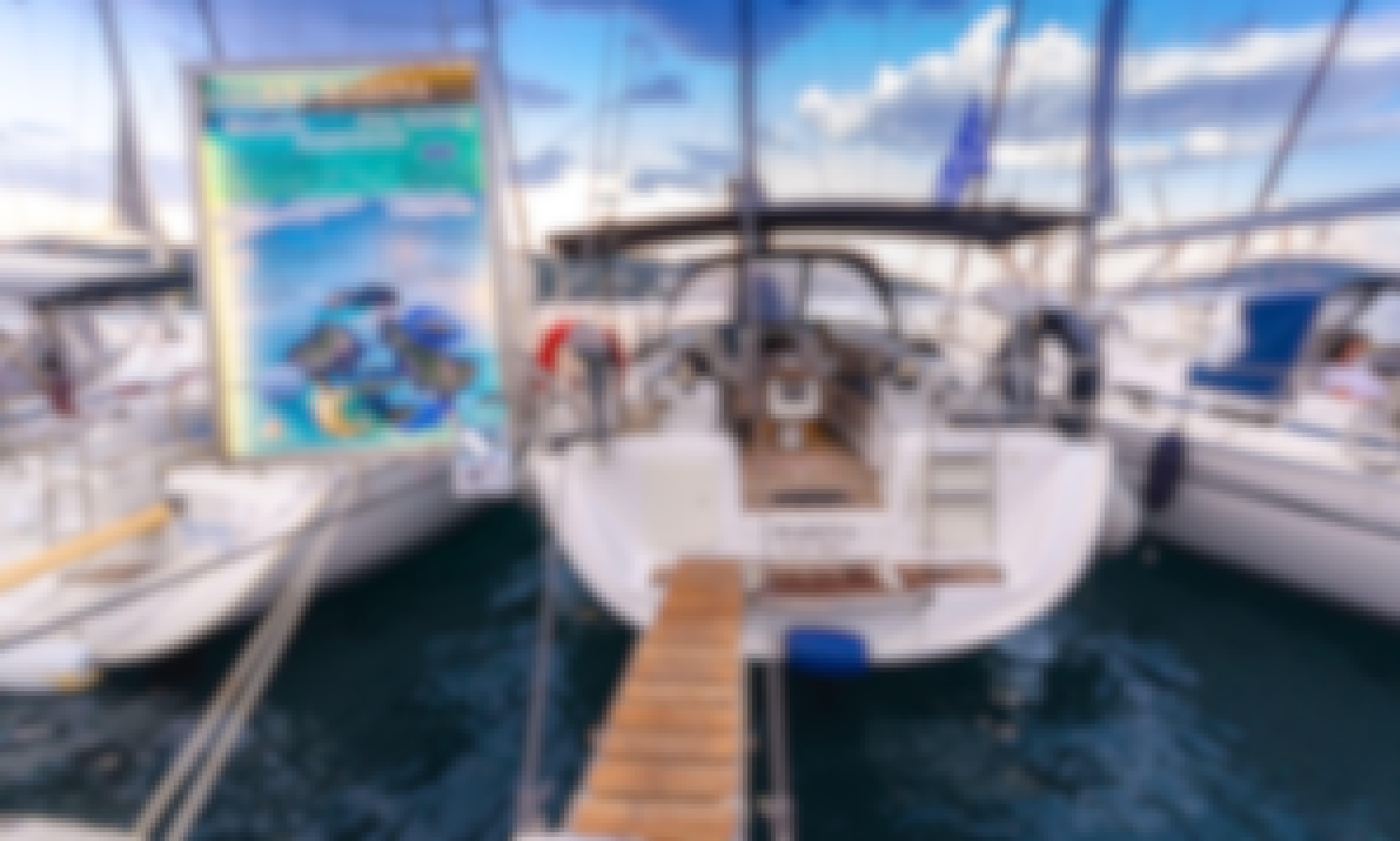 DAY SAILING Yacht in Skiathos, Greece. Beneteau Cyclades 50.5 Sailing Yacht