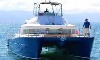 French Design Lagoon 43 Power Catamaran in Puerto Vallarta