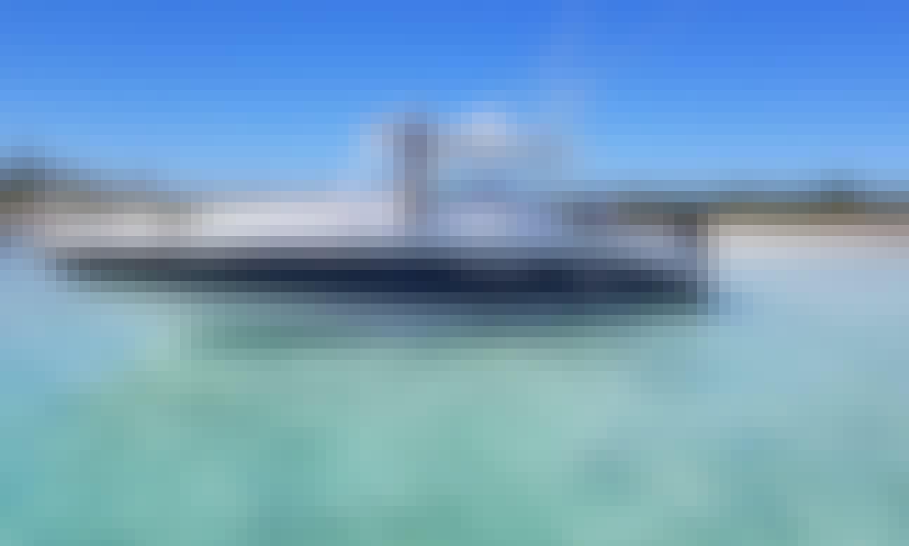 Deep Sea and Bottom Fishing in 38' Donzi in Leeward Settlement, Caicos Islands