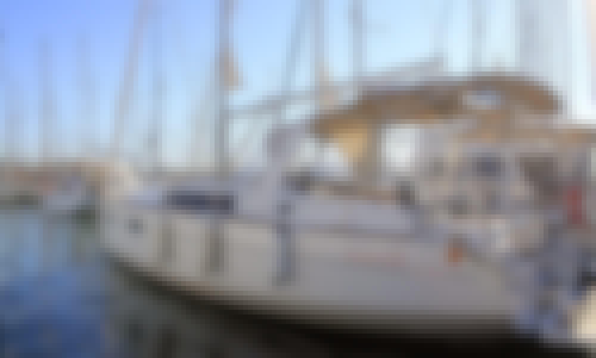 Charter the 2018 Oceanis 35.1 at l'Estartit, Costa Brava, Spain