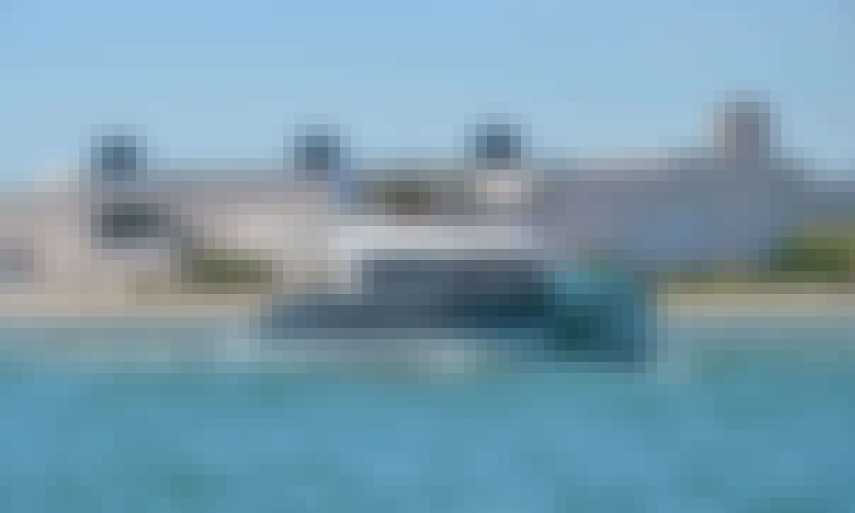 """Summer Blue"" Fountaine Pajot Power Catamaran Rental in Lisboa, Portugal"
