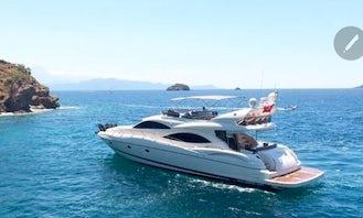 Beautiful Yacht for Rental in Muğla, Turkey