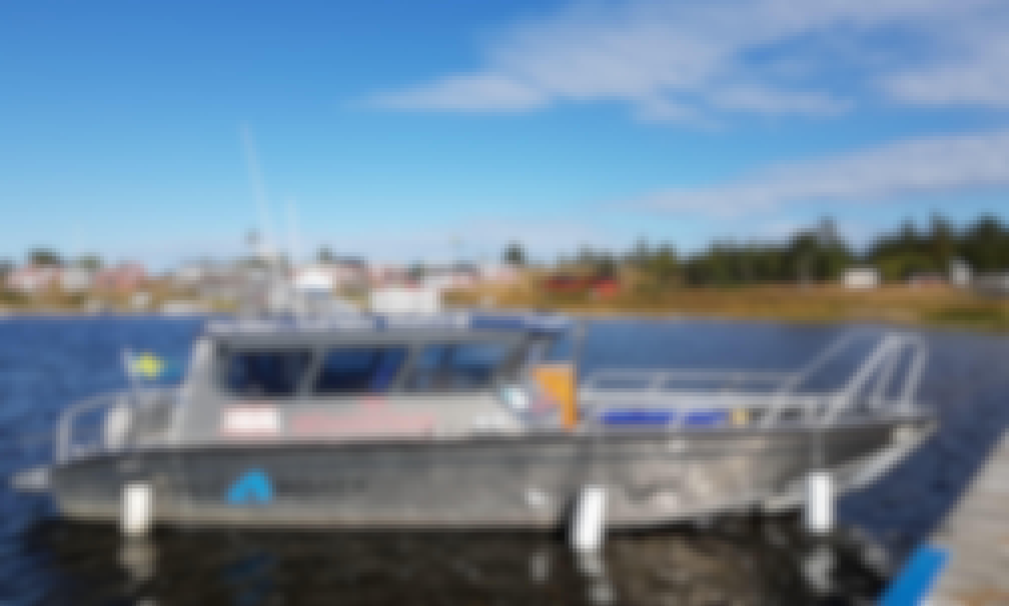 Taxi Boat Transfer To Piteå Island Cottages