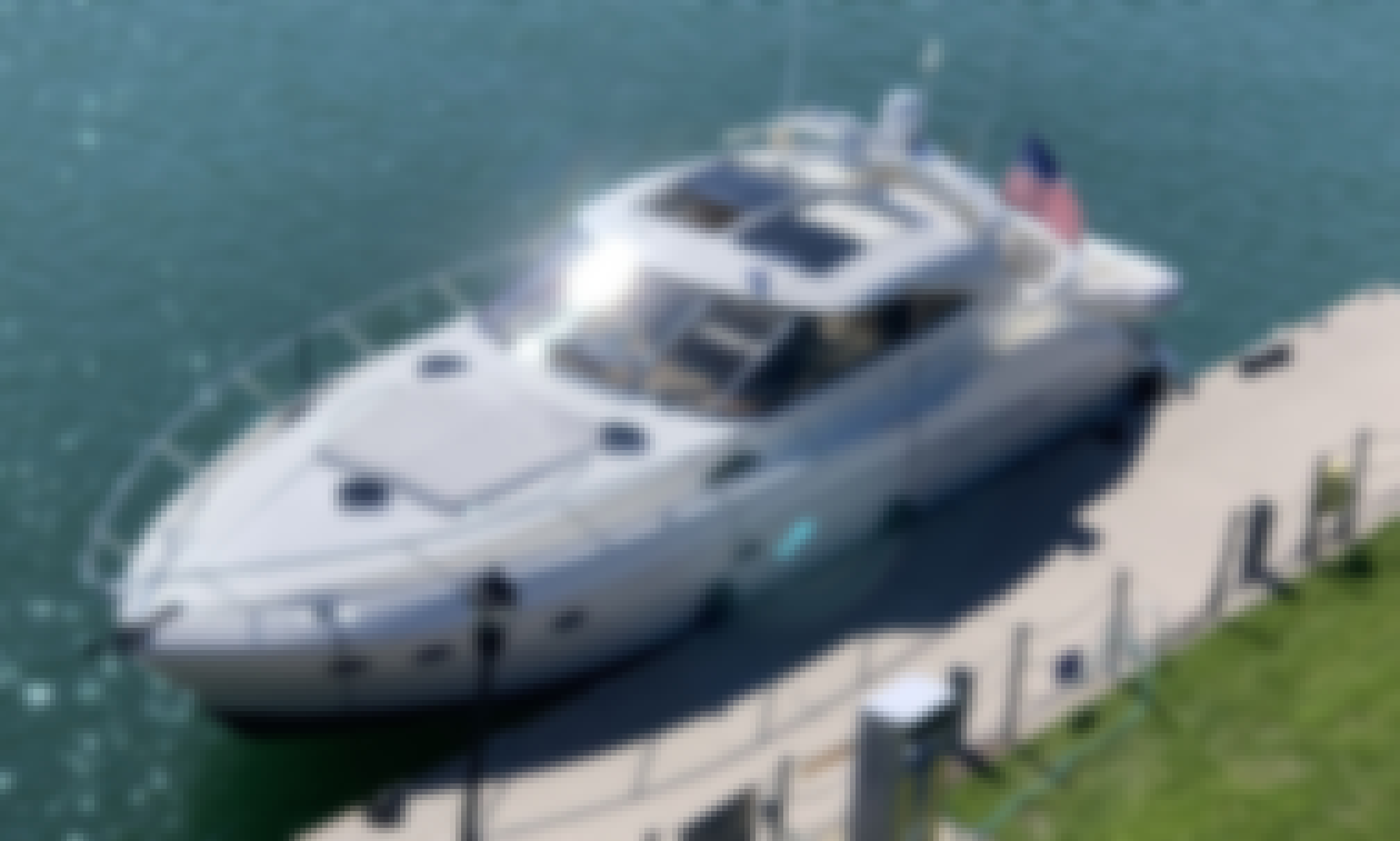 Private Yacht Charter on 60ft Ship In NYC or Jersey City, NJ