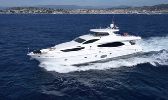 Gorgeous Majesty 101 - Private Luxury Yacht in Dubai