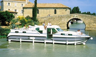 Hire the Confort 1350 B Canal Boat in Saverne, France for 10 person!