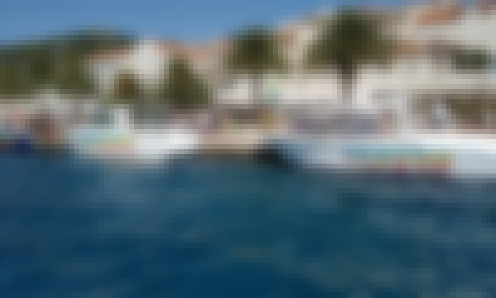 Book the Hvar Private Water Taxi for 12 person!