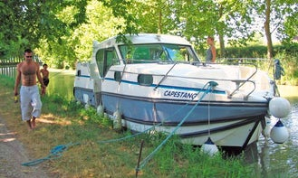 Rent a Double Steering 36' Confort 1100 Canal Boat in Grez-Neuville