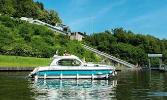 Hire Self-Drive 36' Estivale Quattro S Canal Boat and Cruise the waterways of Alsace and Lorraine Region
