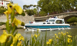 Hire and Navigate the 44' Estivale Octo Canal Boat based in Harskirchen