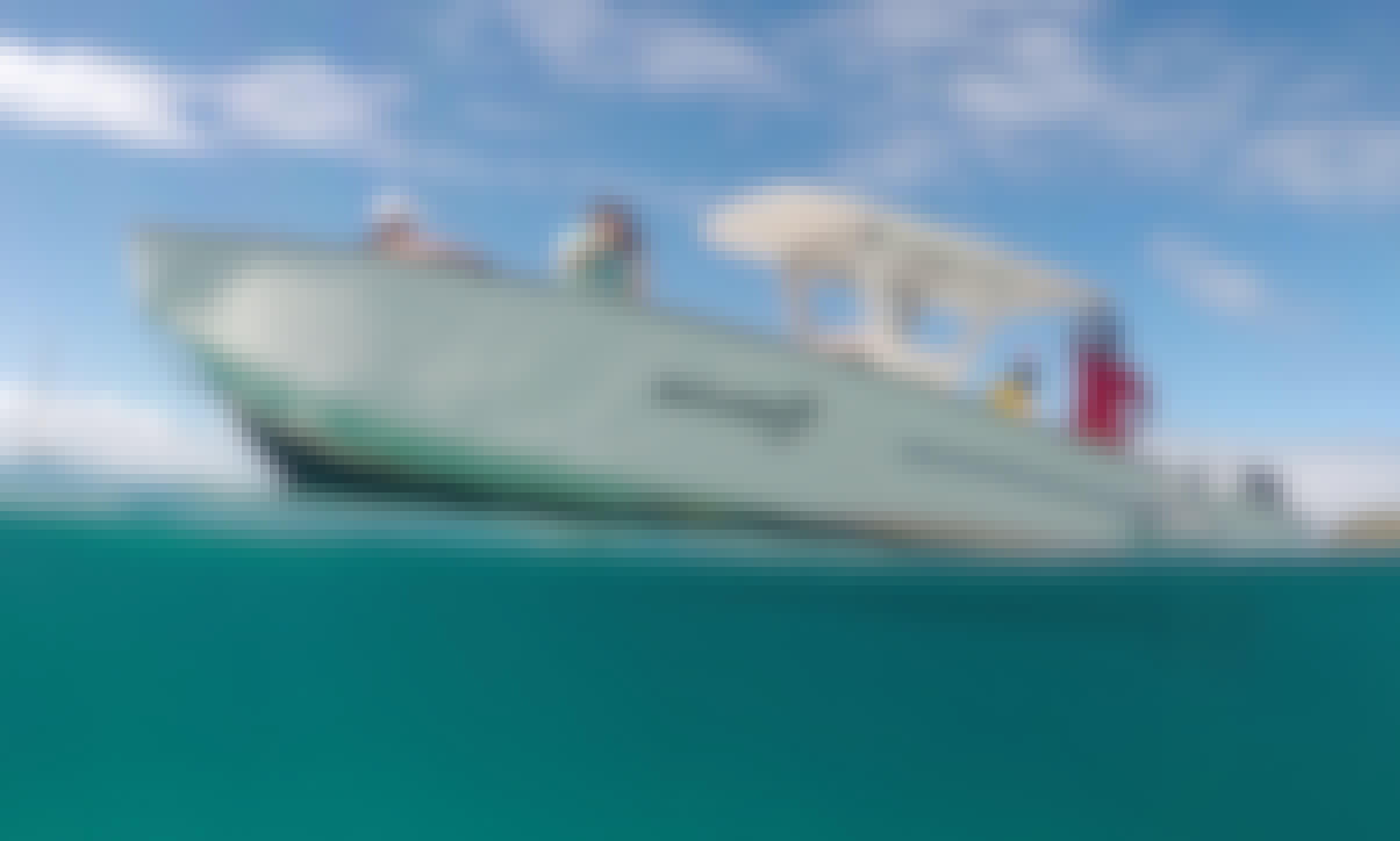 Power boat charter from Philipsburg