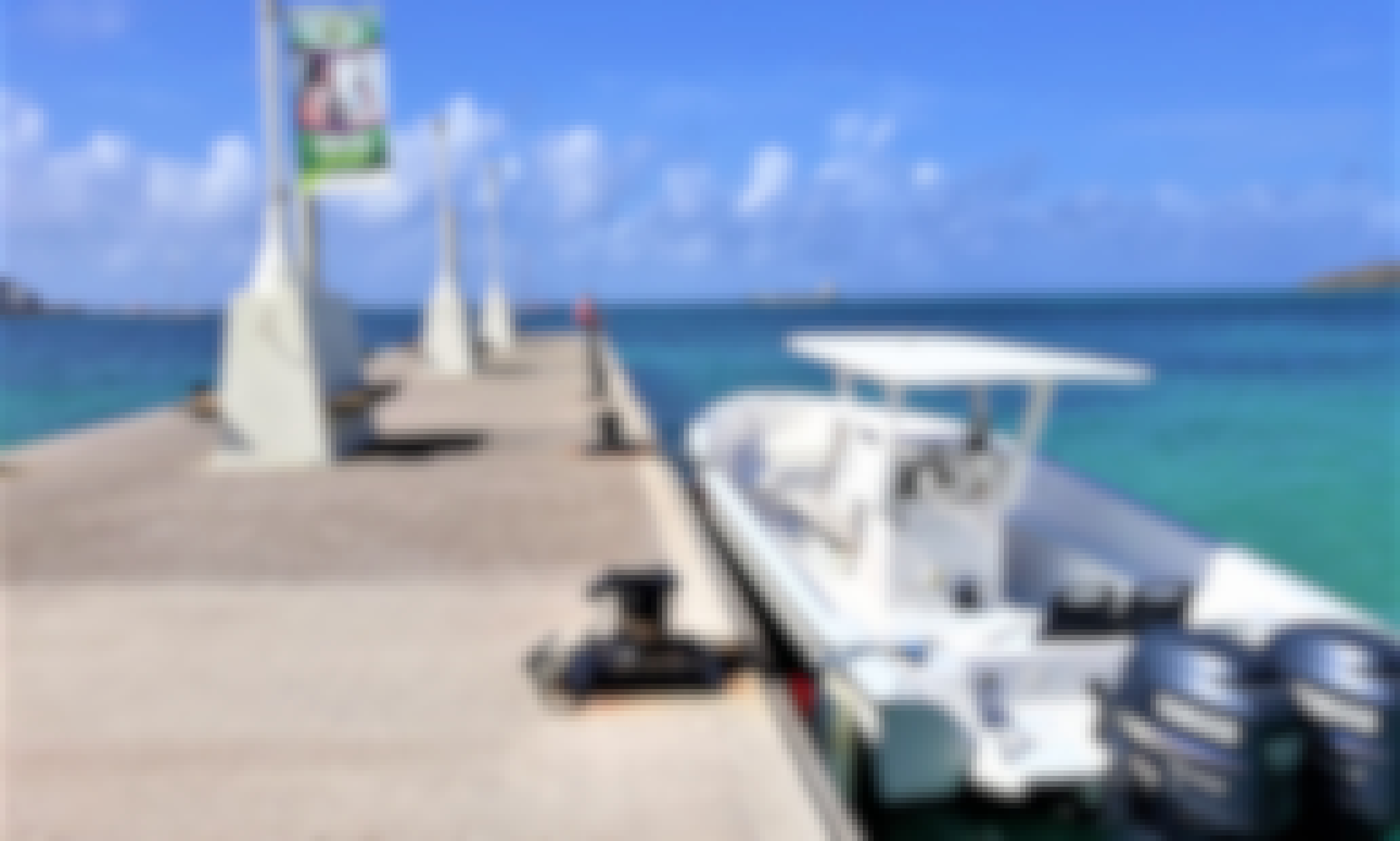Power boat charter from Philipsburg