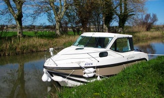 Reserve the Primo Canal Boat in Port Lauragais, France
