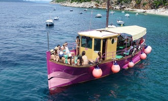 39' Traditional Wooden Boat for Private Small Groups Tours in Dubrovnik