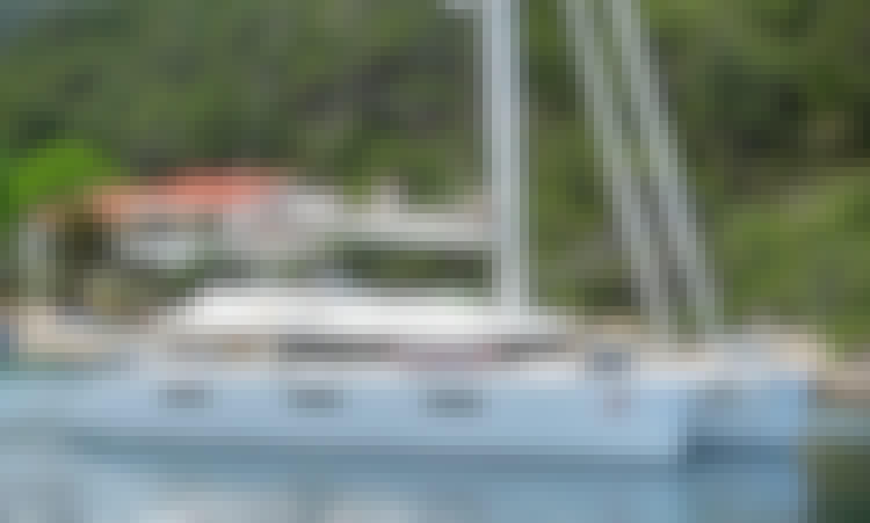 """Adriatic Lion"" Lagoon 620 Sailing Catamaran Rental in Kaštel Gomilica, Croatia"