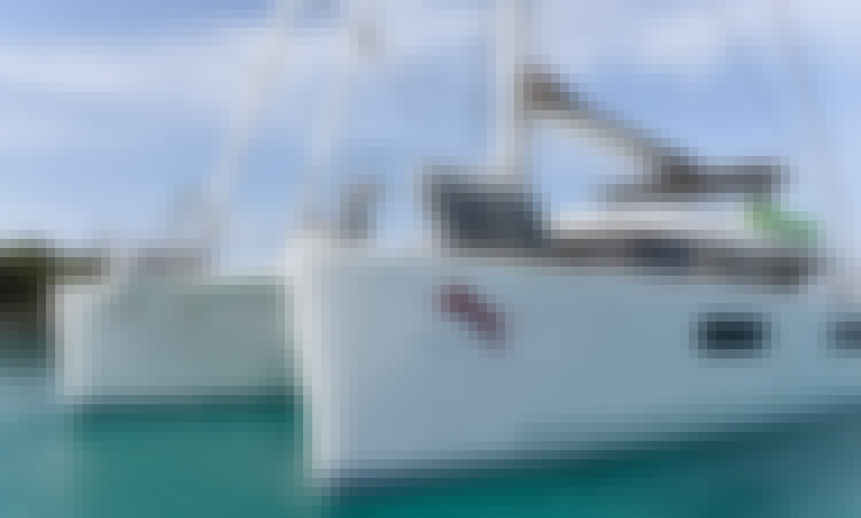 "Charter the ""Adriatic Tiger"" Lagoon 620 Sailing Catamaran in Kaštel Gomilica, Croatia"