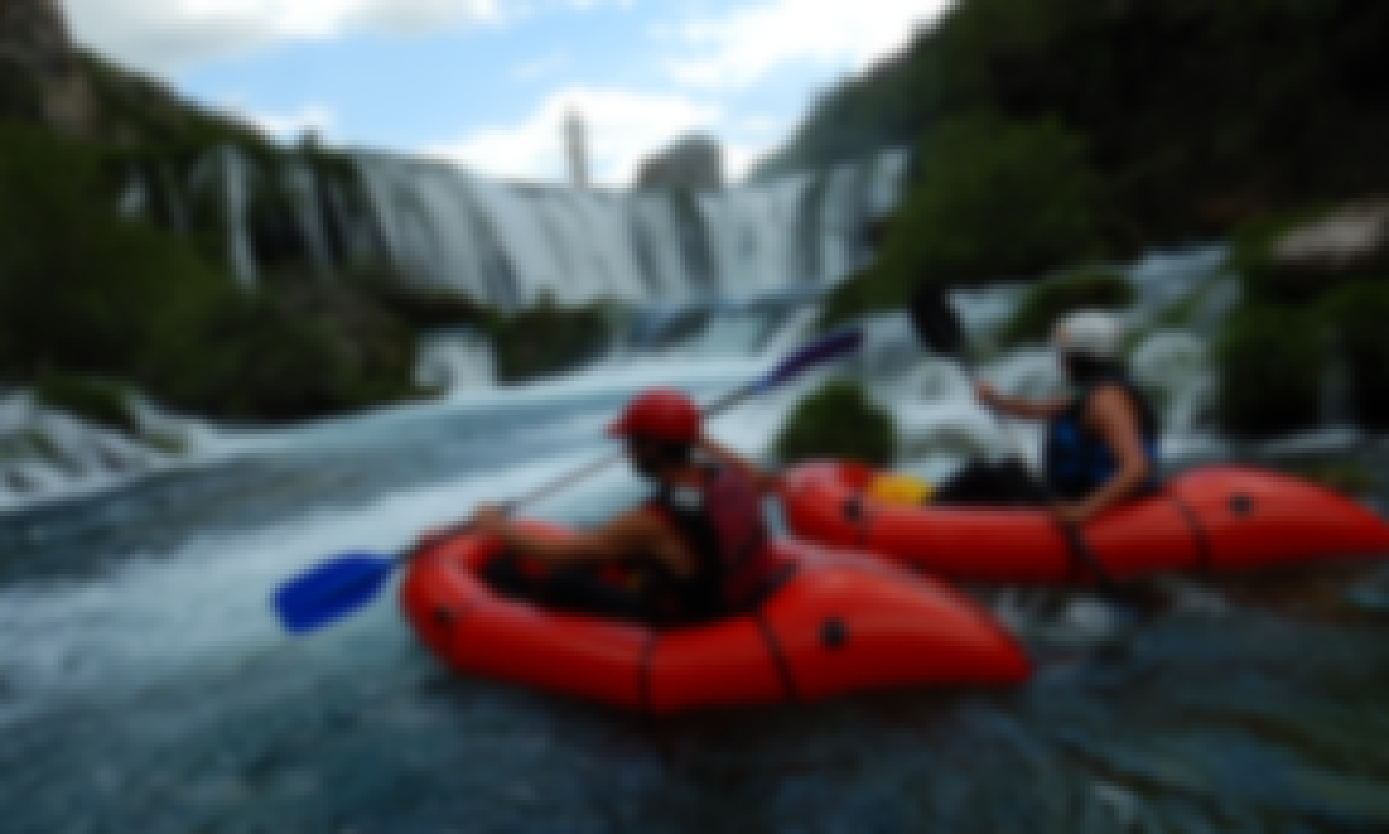 Guided Day Packrafting Experience on Zrmanja River