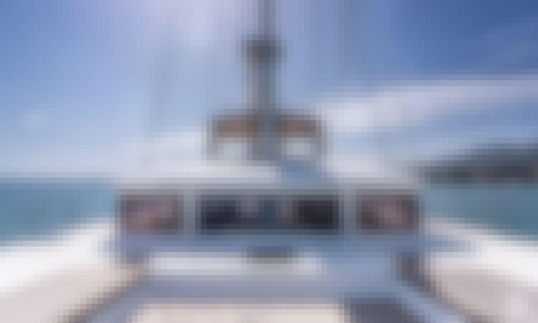 """Princess Seline"" Lagoon 560S2 Sailing Catamaran Rental in Kaštel Gomilica, Croatia"