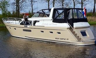 Van der Valk Exotic 17 Motor Yacht Charter from Flevostrand
