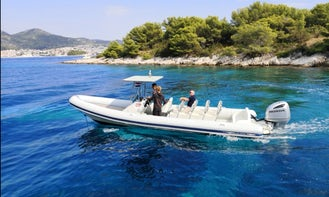 Hire Fast 12 People Honda Powered RIB in Split, Croatia!