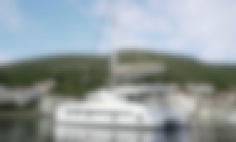 """Namaste Of Bali"" Bali 5.4 Cruising Catamaran Rental in Kaštel Gomilica, Croatia"
