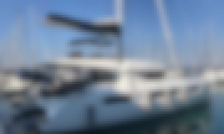 """""""Katka"""" Lagoon 50 Cruising Catamaran Rental in Kaštel Gomilica, Croatia"""