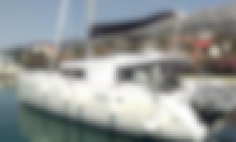 """Adriatic Cheetah"" Lagoon 450F Cruising Catamaran Rental in Kaštel Gomilica, Croatia"