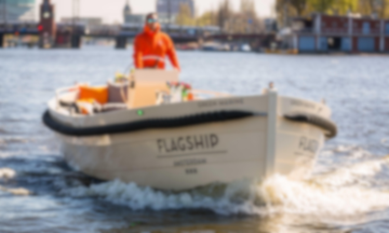 Luxury Electric Open Boat GREEN MARINE in Amsterdam, Netherlands