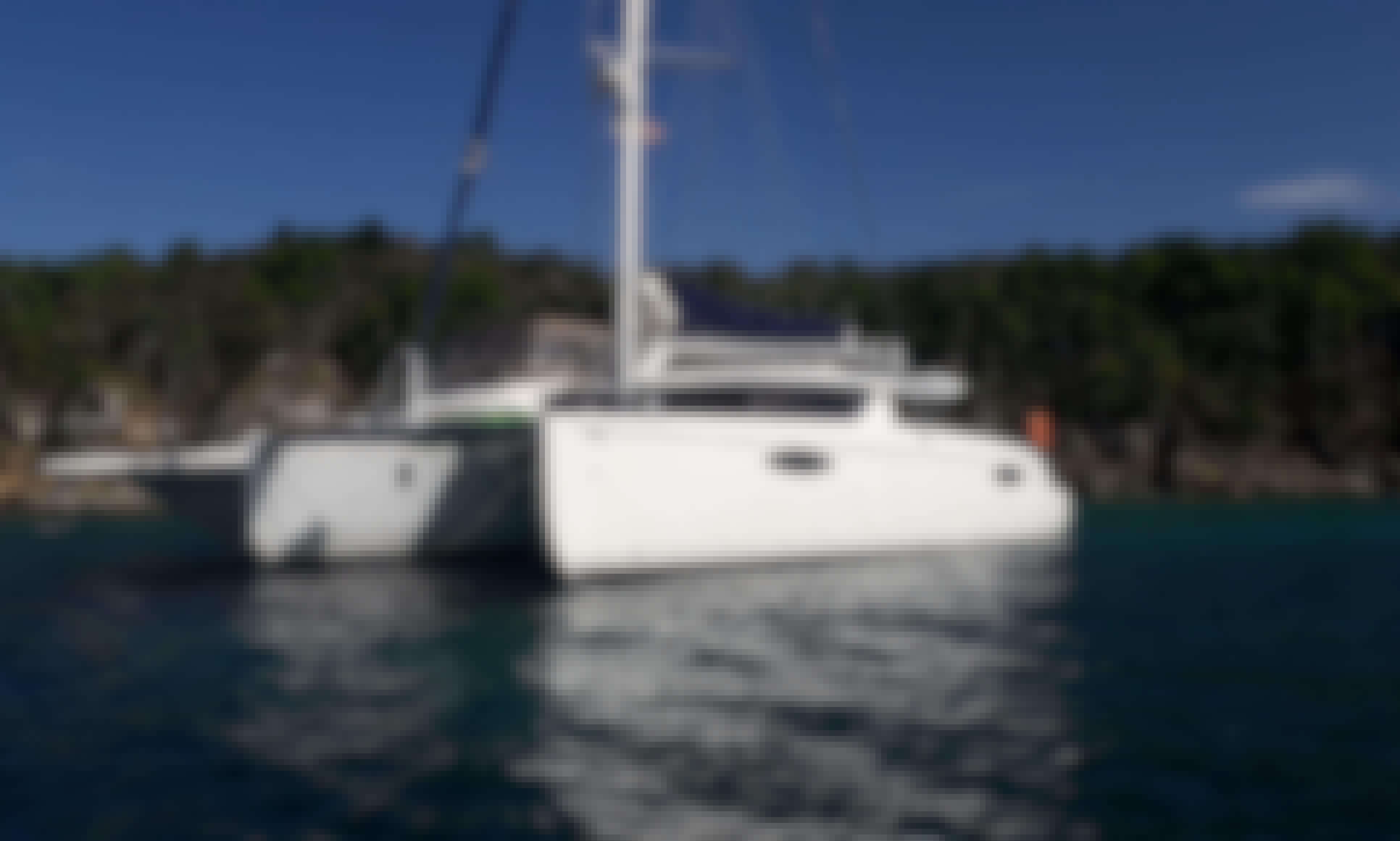 "44' Sail Catamaran Fountaine-Pajot ""Hipntq"" in Ponce Puerto Rico and Caribbean destinations"
