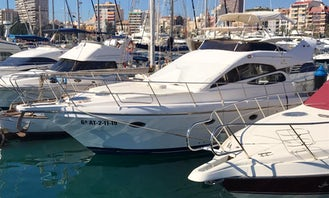 Book the Doqueve Majestic 42 Motor Yacht in Alicante, Spain
