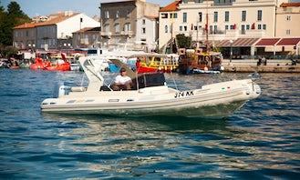 Rent 22' Solemar Rigid Inflatable Boat in Krk, Croatia