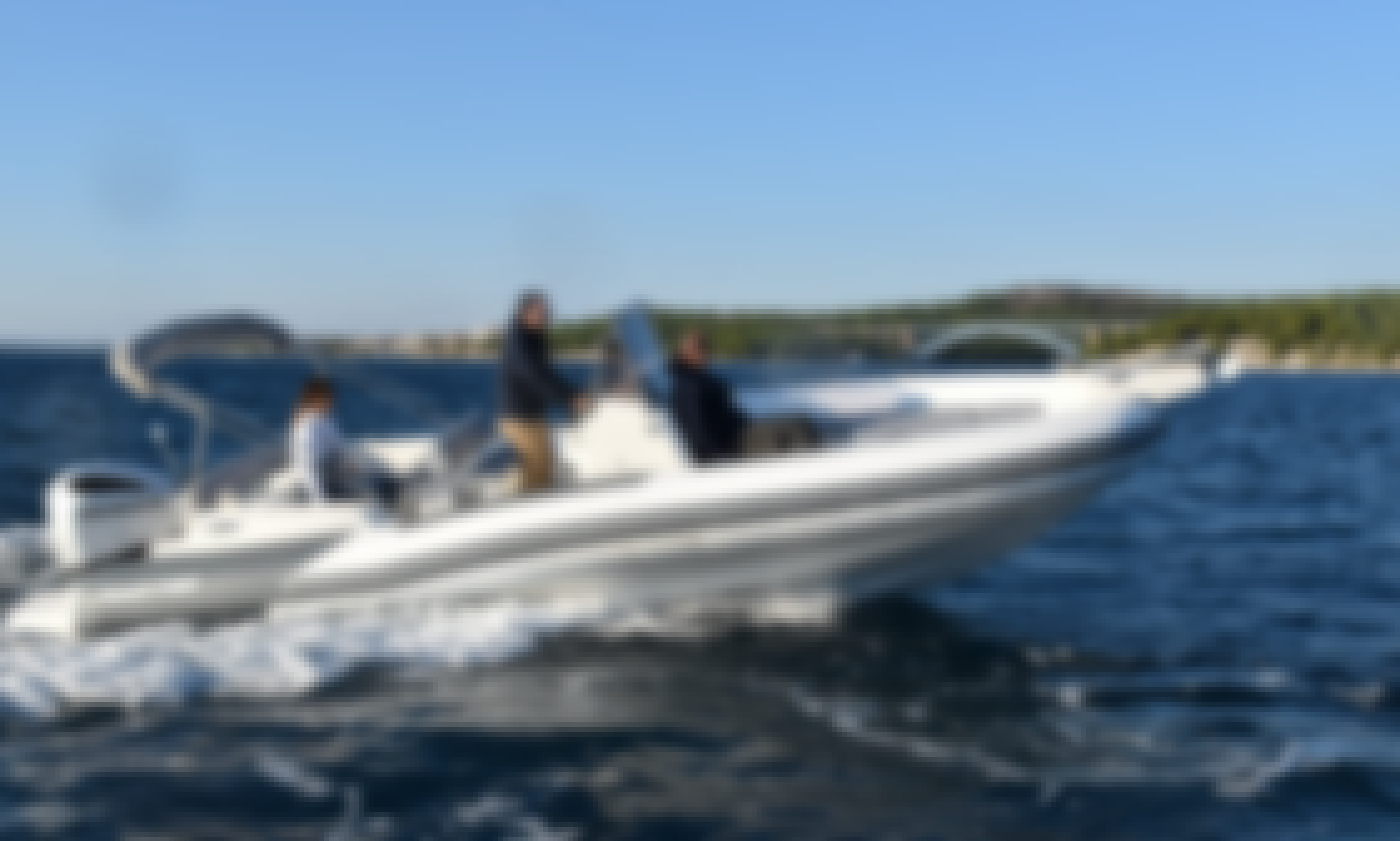 Hire Marlin 790 Dynamic RIB for 12 Person in Trogir, Croatia!
