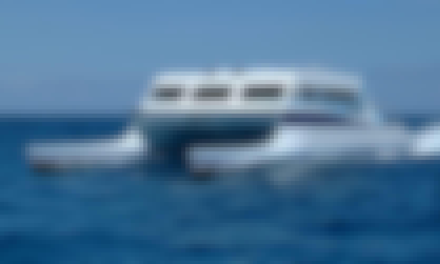 Ferry to St Barts Round Trip onboard 62' High Speed Wave Piercer in