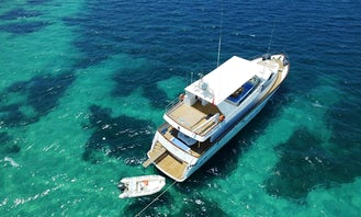 "Well Maintained Luxury Motoryacht ""Maris 59"" in Muğla, Turkey - Crewed Charter!"