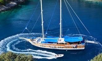"""Luxury Gulet """"Maris 5"""" Sail in Rhodes, Greece!"""