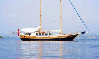 Charter the Luxury Gulet Maris 95 in Kerkira, Greece