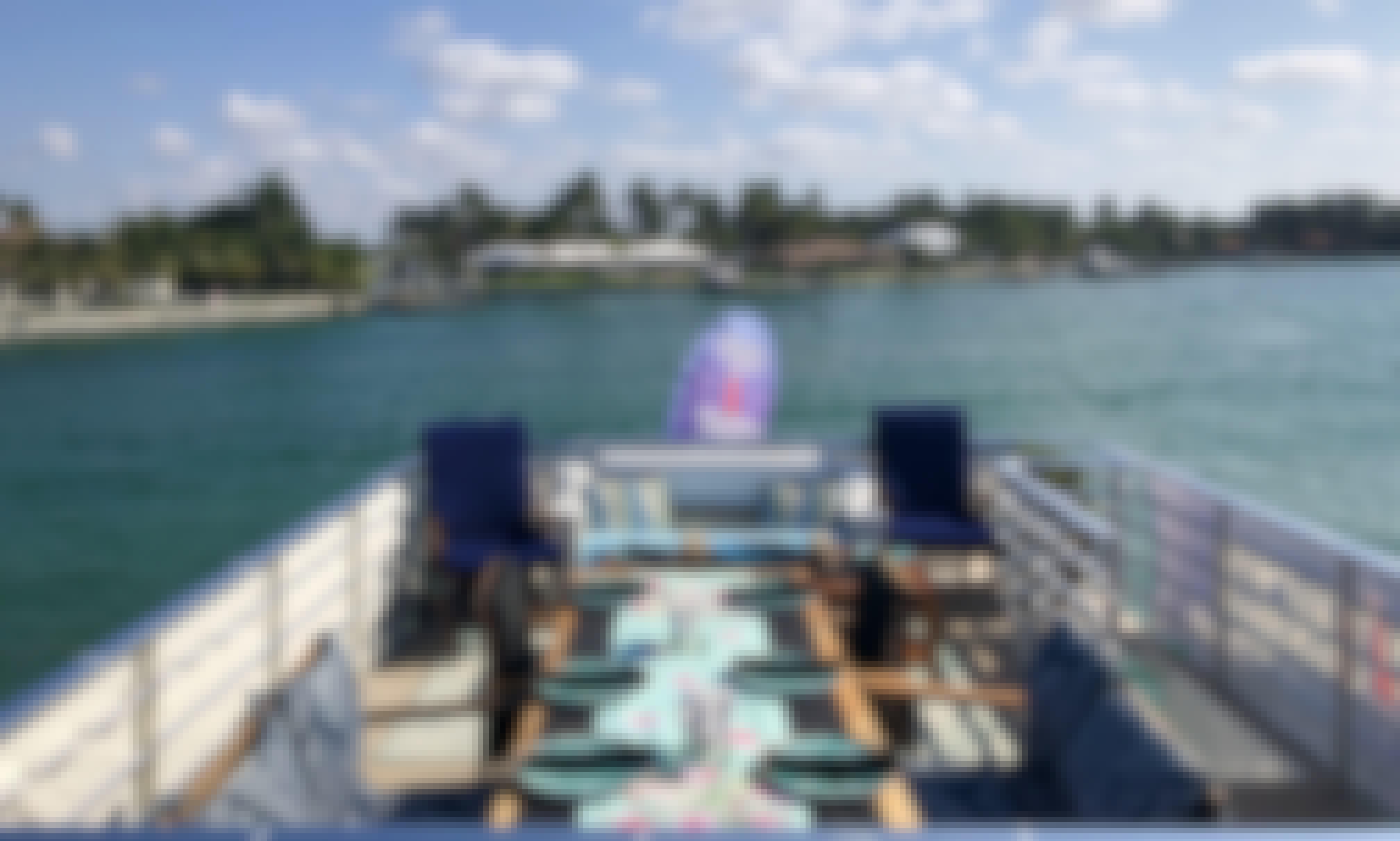 Food Yacht 2 hour Sunset Dinner Cruises!