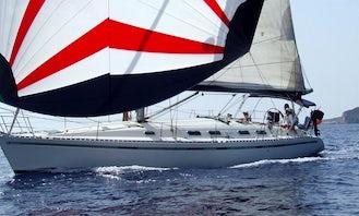 Beneteau First 45F5 Sailing Yacht Rental in La Maddalena, Sardegna