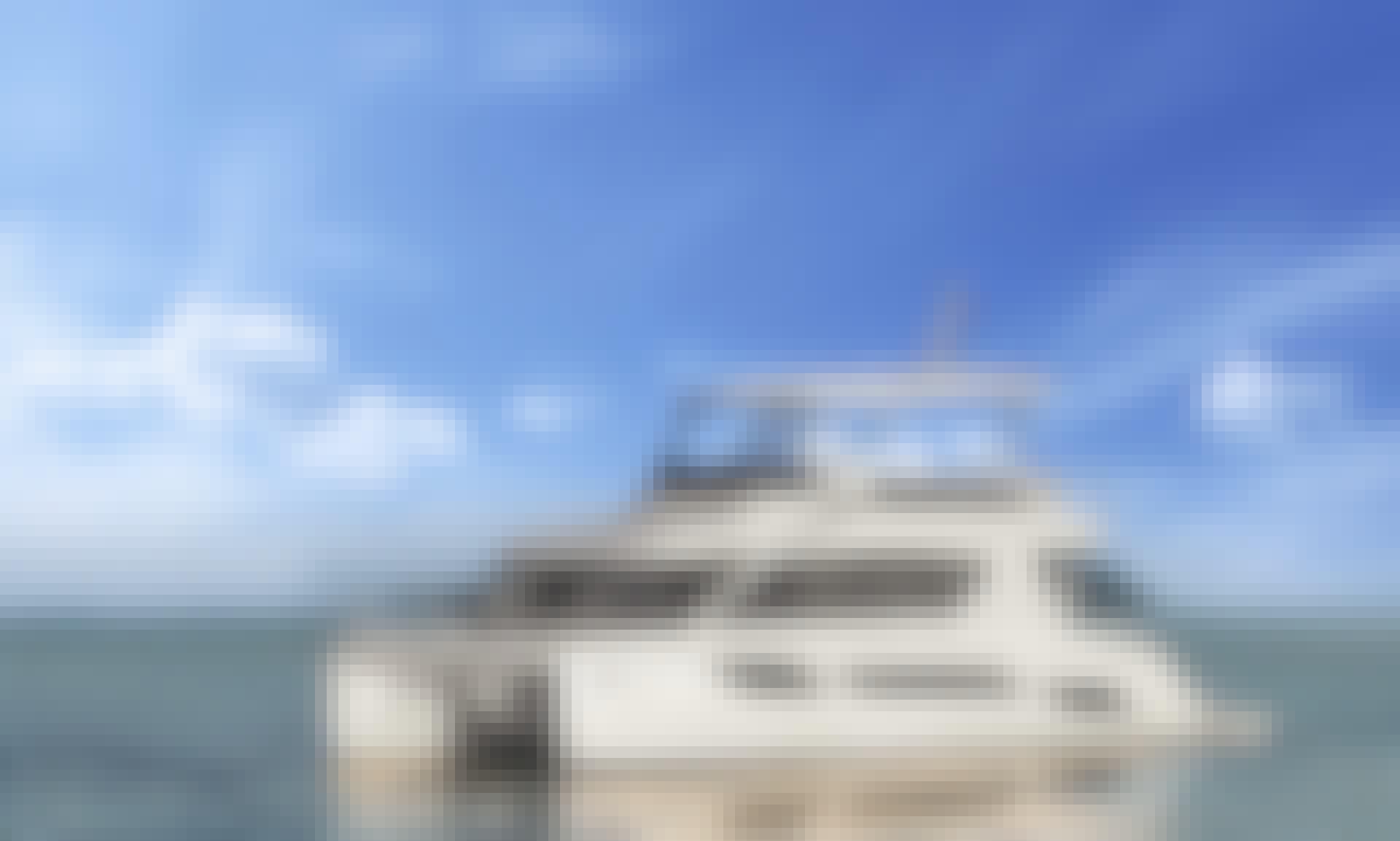 48' Aquila Power Catamaran Rental in Sentosa Cove, Singapore