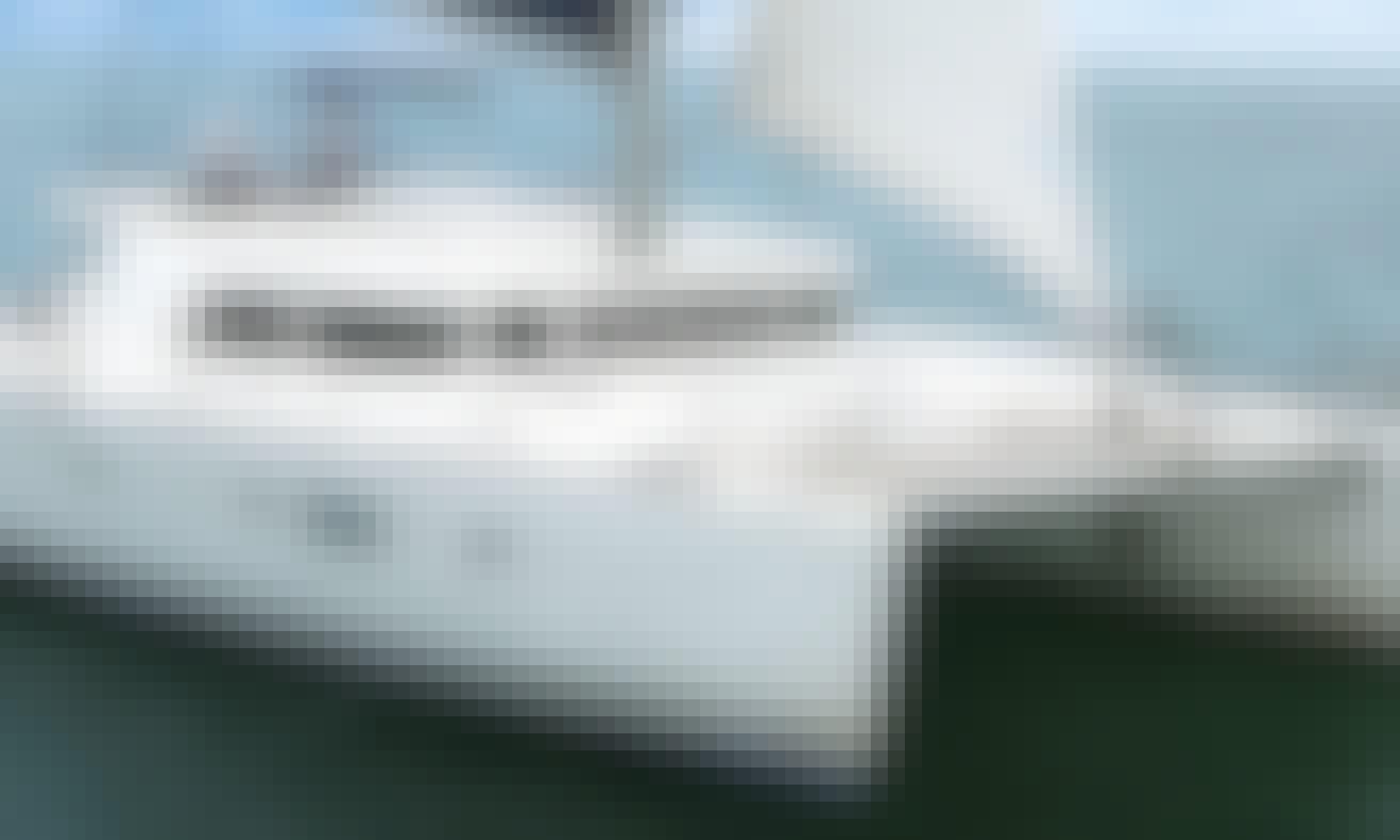 GB78 Lagoon 500 Cruising Catamaran Rental in Sentosa Cove, Singapore