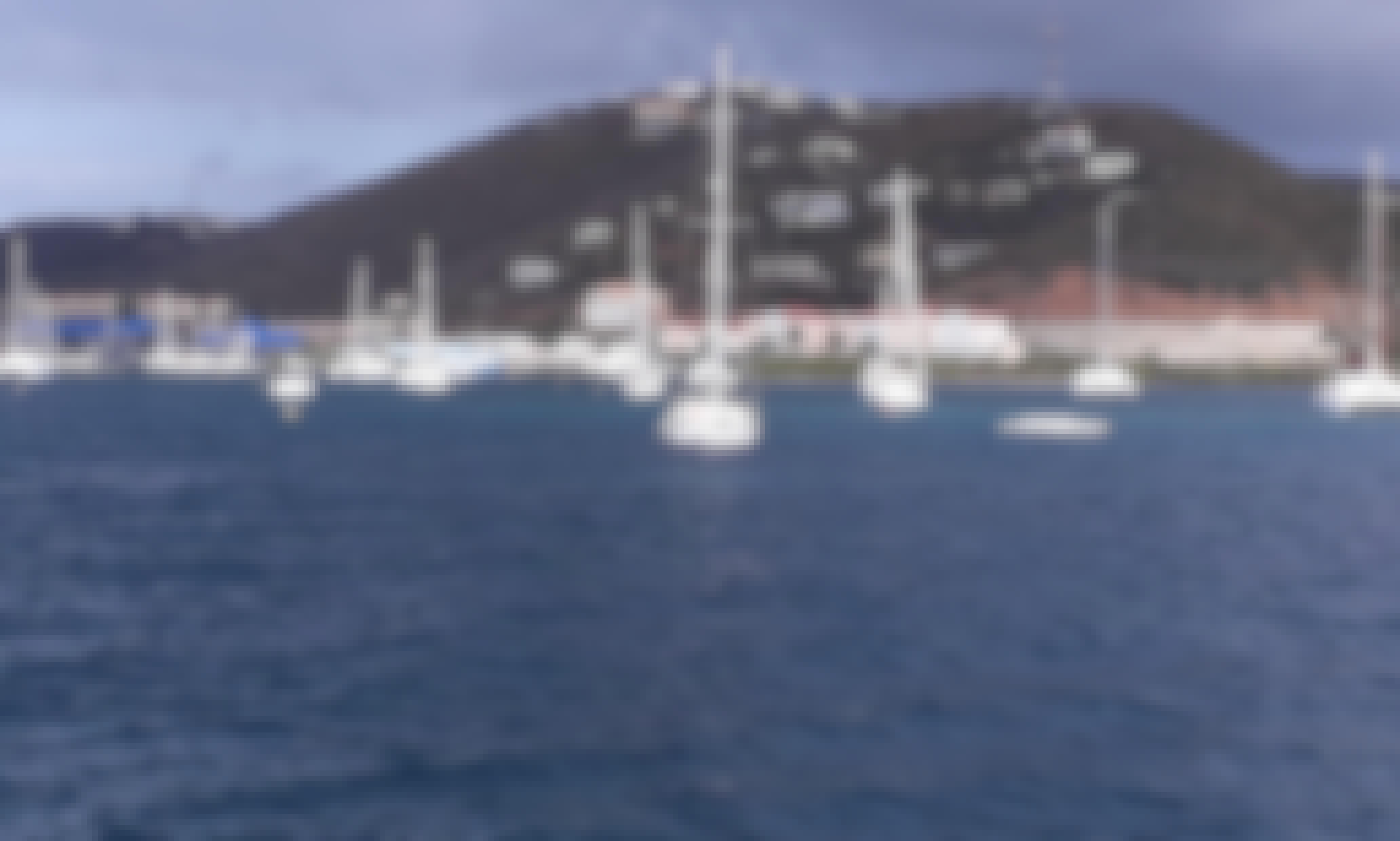 Sailing British Virgin Islands with 44' Fountain-Pajot Catamaran