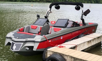 Rent Wake Boat for up to 17 People in Austin