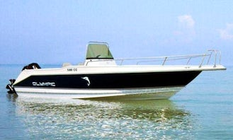 Boat Sea Adventures in Cretan Sea! Rent Olympic 625 Powerboat with or without skipper!