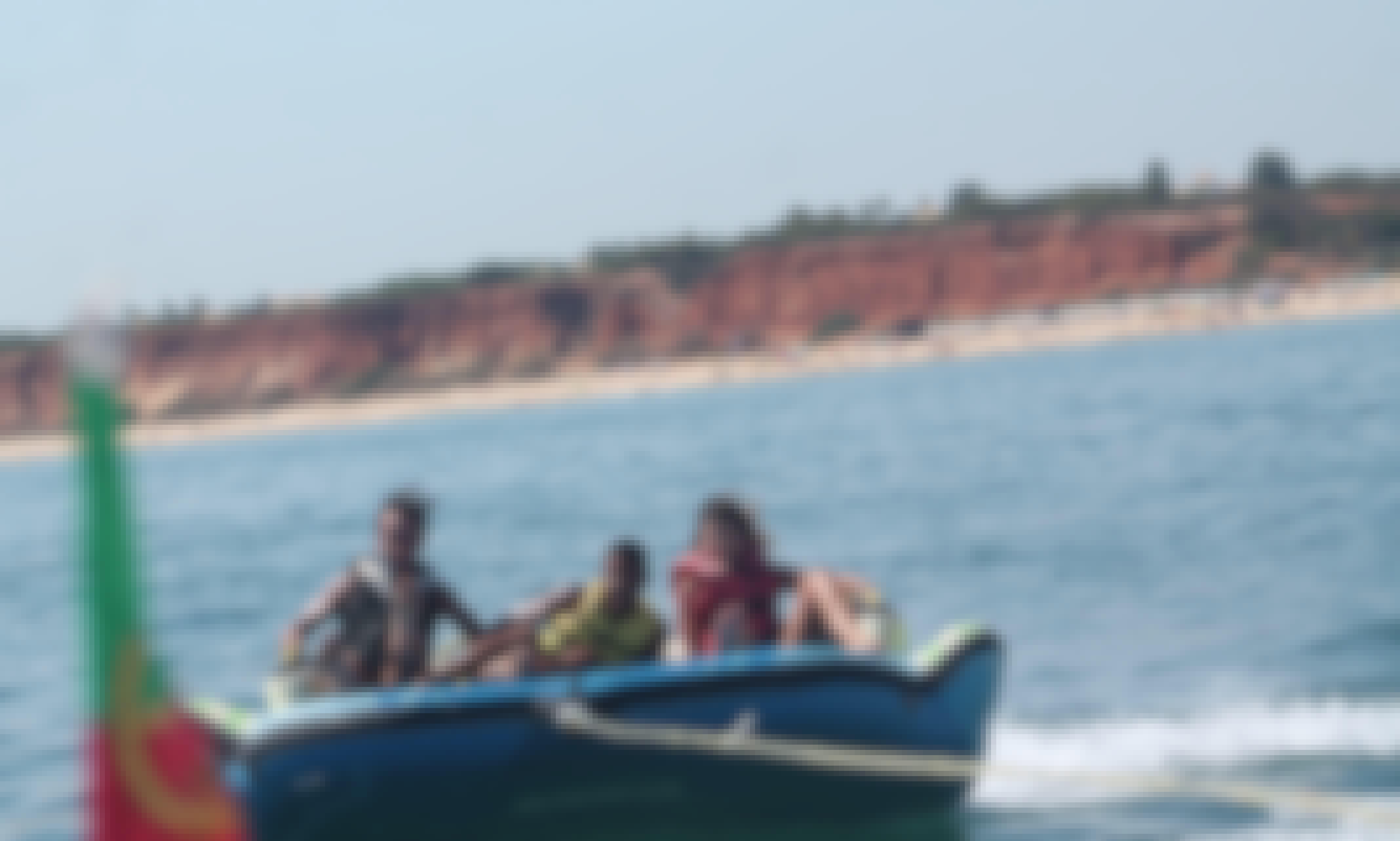 """Enjoy """"Crazy Sofa""""  Sonar Rides in Albufeira, Portugal"""