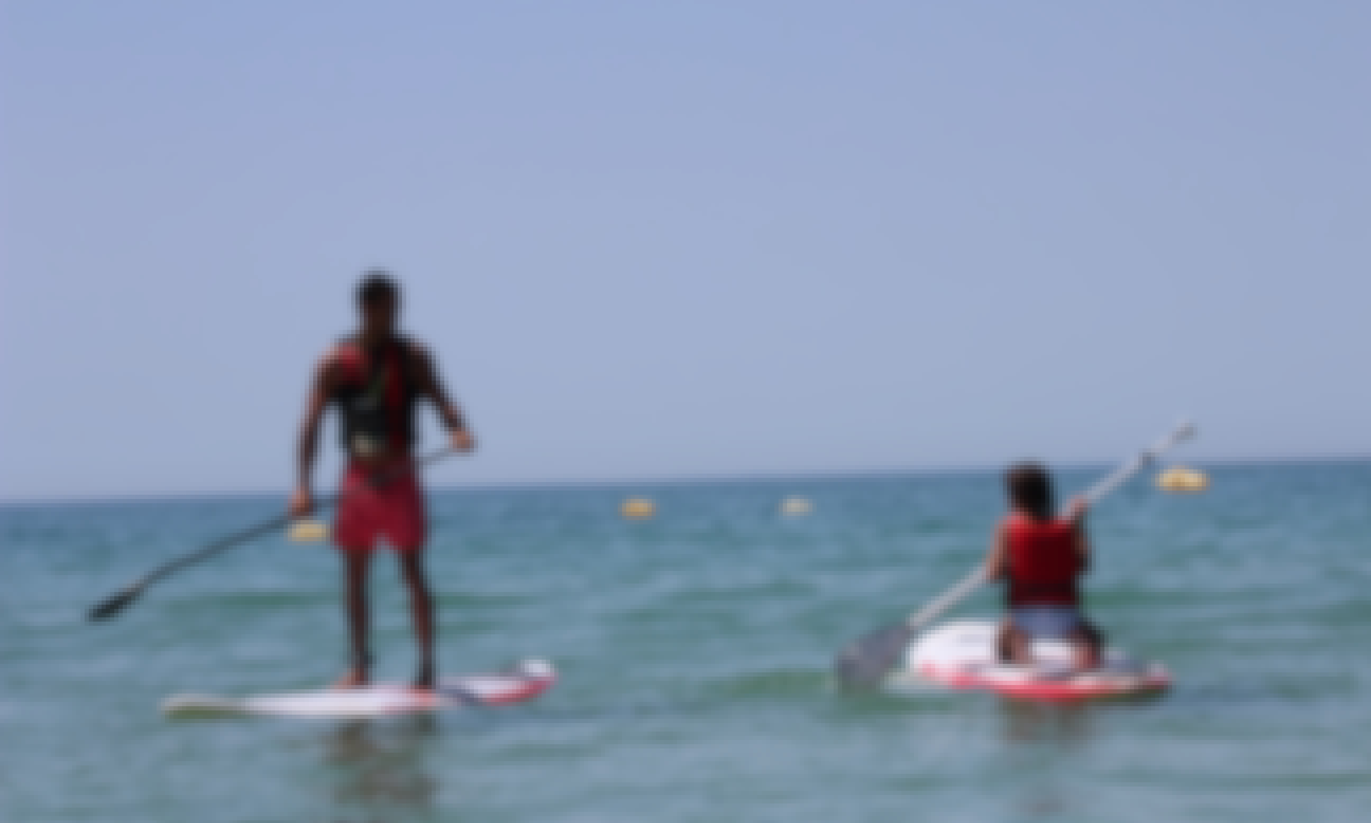 Enjoy a Stand Up Paddleboard in Albufeira, Portugal