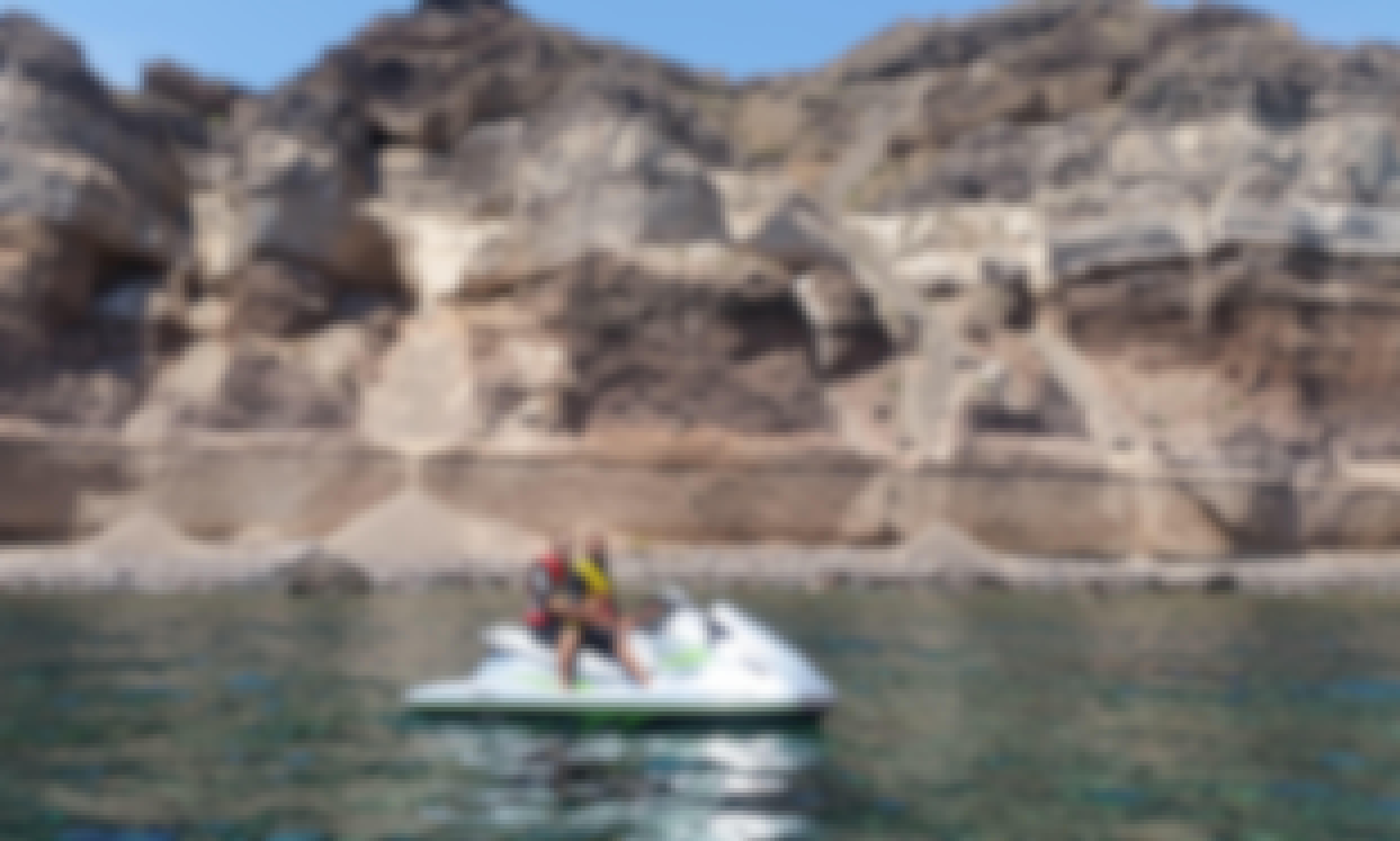 Jet Ski Safari - All around the island in Santorini