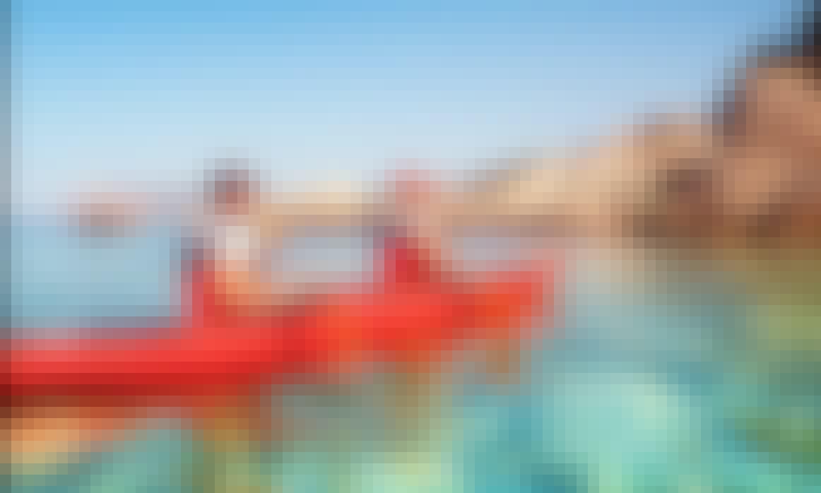 Single and Double Sea Kayak Rental in Santorini